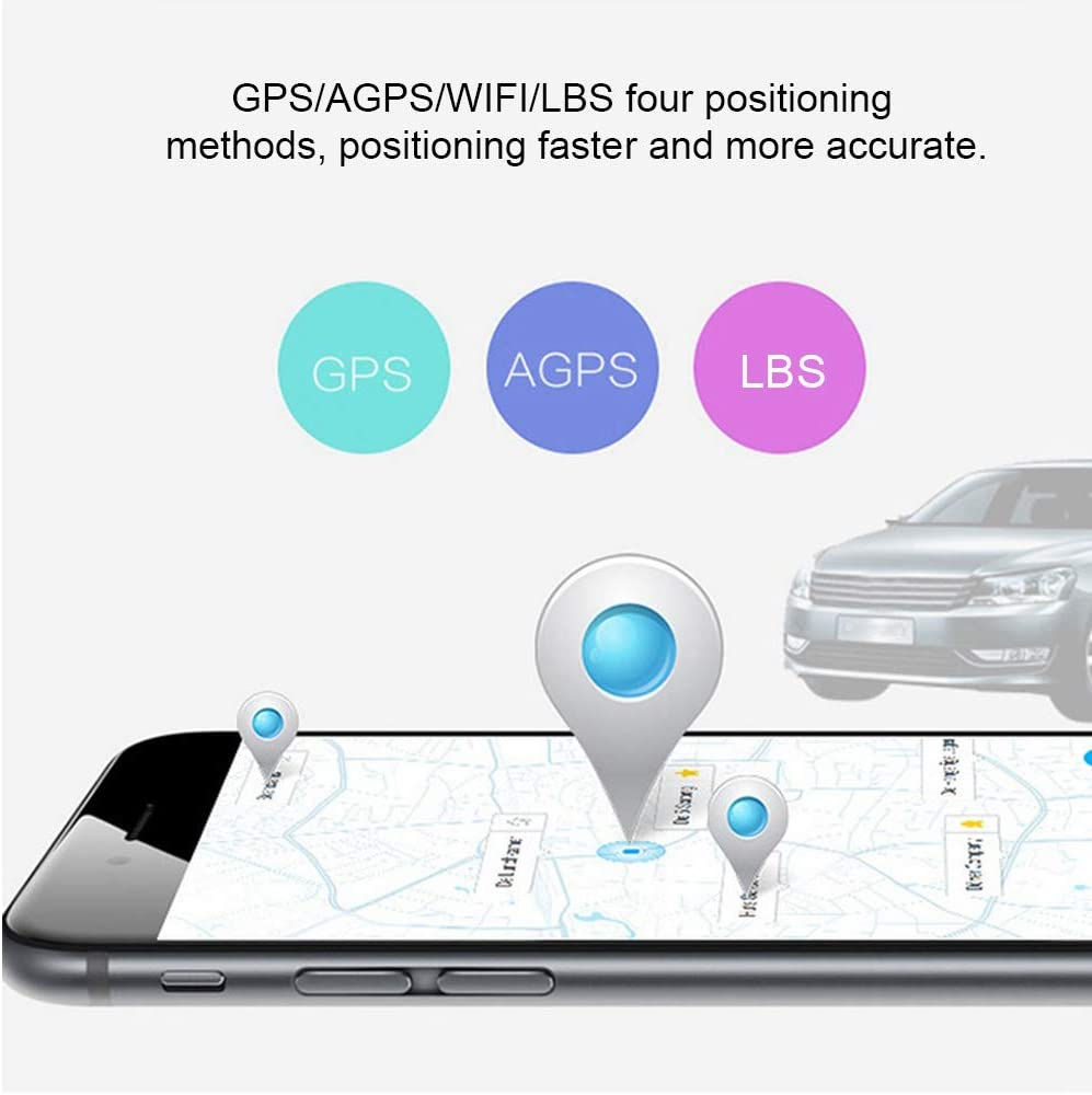 Localizador de Alarma de Coche, Mini Vehículo Coche Localizador GPS de Localización en Tiempo Real Dispositivo de Seguimiento gsm Gprs, Rastreador GPS en Tiempo Real: Amazon.es: Bricolaje y herramientas