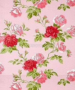 Recubrimiento Para Pared de Interiores Whitewell Elegante Dibujo Bouquet Floral Rosa Antiguo 550633 - Rollo Completo