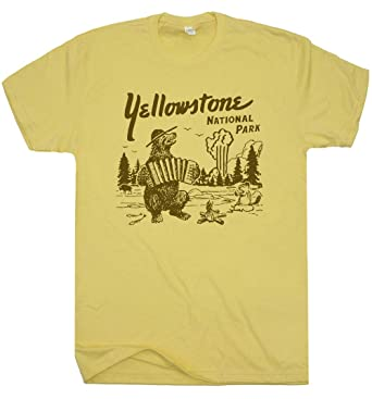 d27c8fbba S - Yellowstone National Park T Shirt Wyoming Grand Tetons Tee Vintage Old  Faithful Mens Womens. Roll over image to zoom in. Shirtmandude T-Shirts