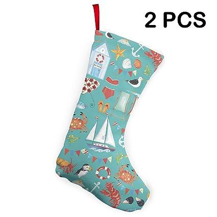 Amazon Com Gdusja 2 Pieces Beachy Summer Classic Christmas
