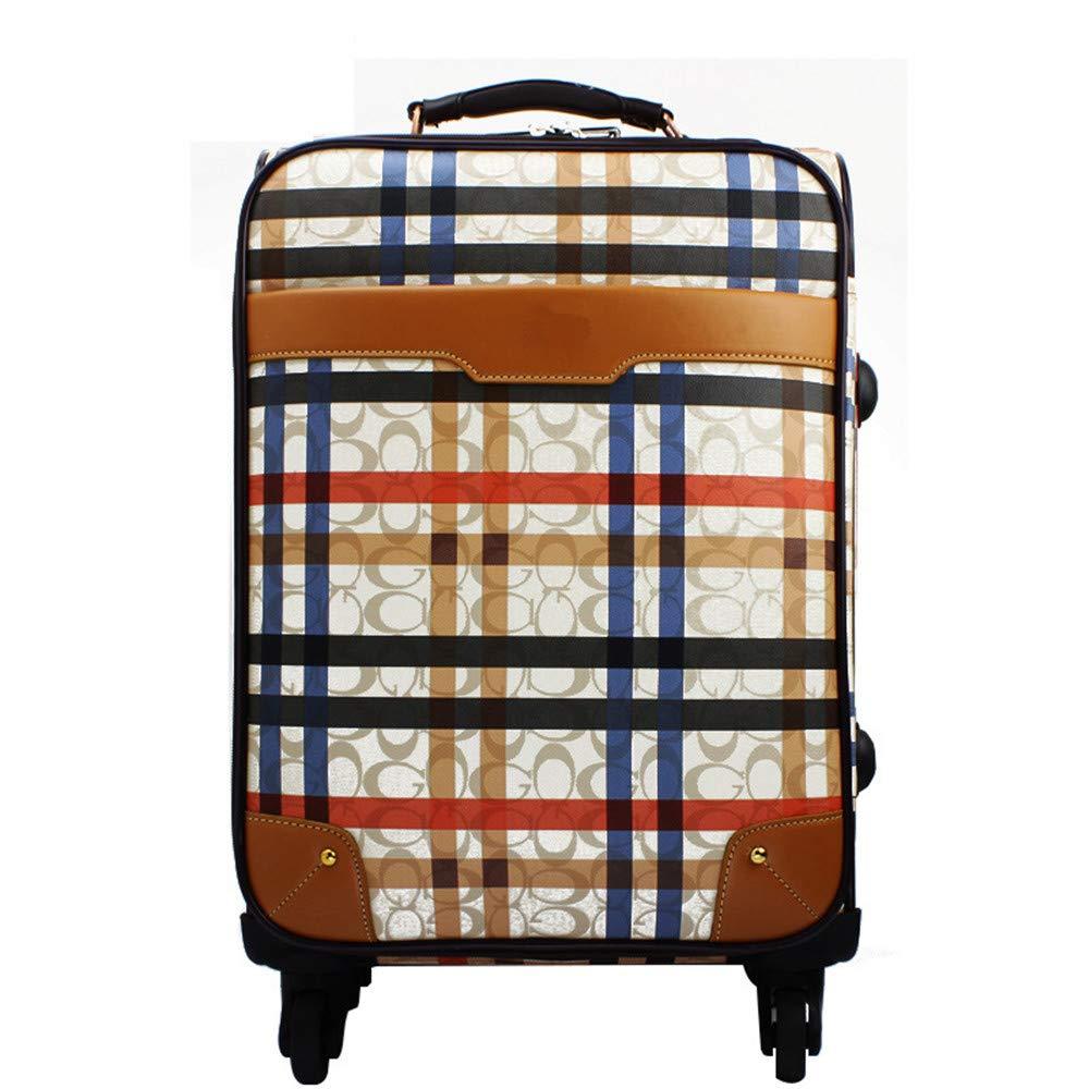 スーツケース 24、28インチ出荷ボックス荷物ボックス男性と女性のボックスユニバーサルホイールpuレザー荷物用旅行飛行機飛行と搭乗 B07V4PJ316