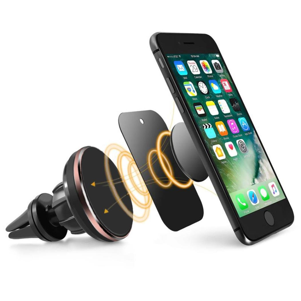 Car Mount , Xiaosan Stand Universal Cell Phone GPS Air Vent Magnetic Car Mount Cradle Holder