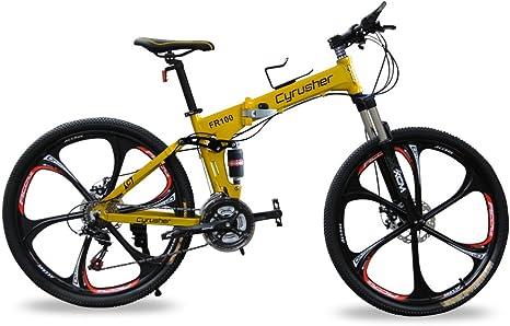 Extrbicir® bicicleta de montaña de doble suspensión para hombre ...