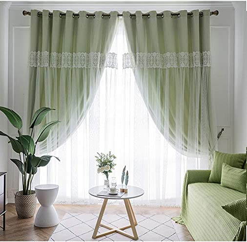 Double-Layer Blackout Curtain