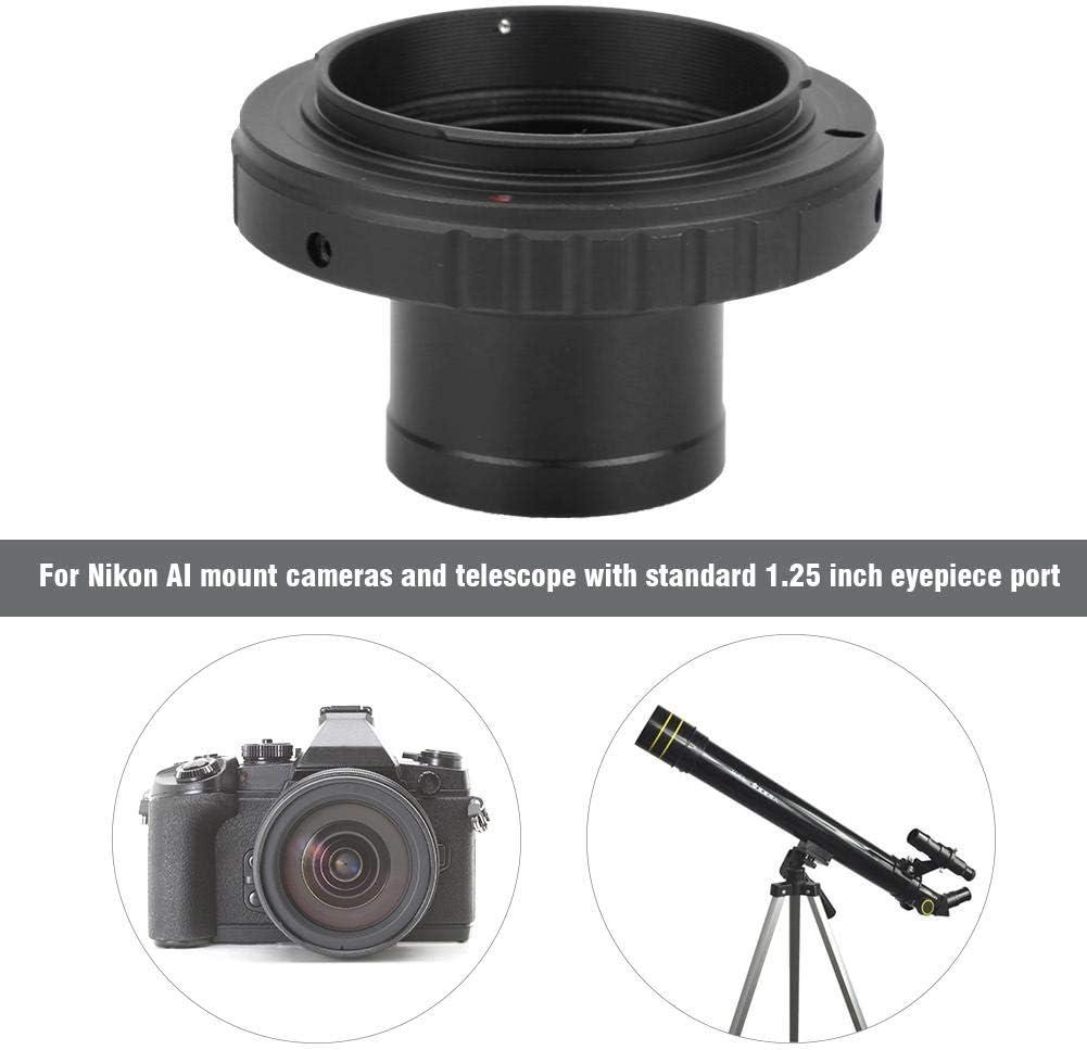 Mugast T2-OM Aluminium Alloy Camera Mount Lens Adapter 1.25 inch Telescope Eyepiece Adapter Ring for Olympus OM Mount Camera