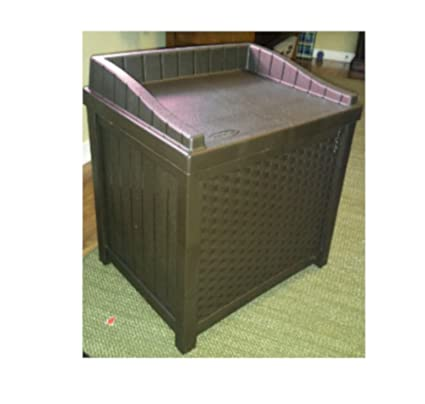Amazon.com: Outside Storage Bench Seat Portable High Capacity Square ...