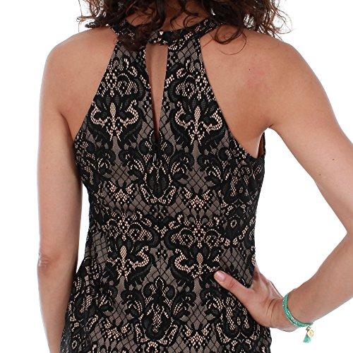 Arm Damen Guess Kleid A996 Schwarz Ohne W72GDHP2138 t1w7Fwq5