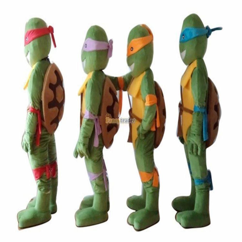 Amazon.com: fancytrader 4 Pcs/lot Teenage Mutant Ninja ...
