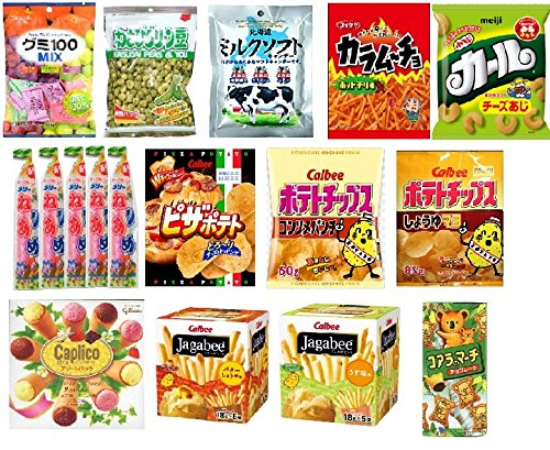 Japanese Popular Snack Variety Packs With New Carton Box
