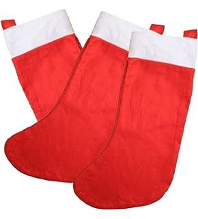 67b9e51e40d 12 24pcs BULK PARTY CHRISTMAS STOCKINGS SECRET SANTA WHOLESALE ...
