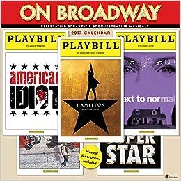 2017 On Broadway Wall Calendar