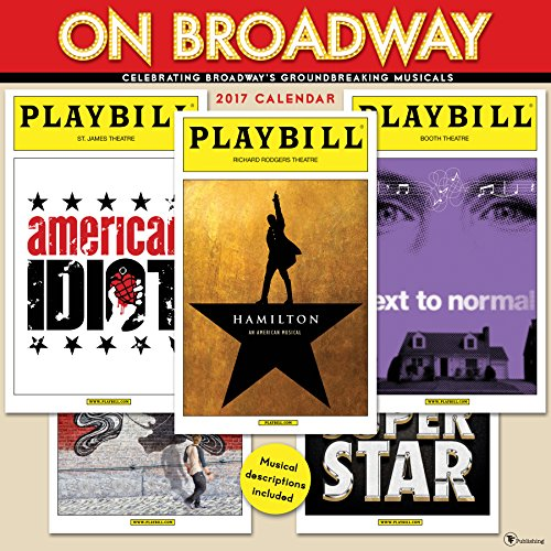 2017 On Broadway Wall Calendar
