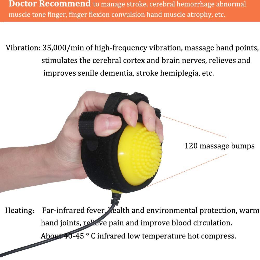 Healsmile® Electric Hot Compress Stroke Hemiplegia Finger Recovery  Equipment Hand Training Electric