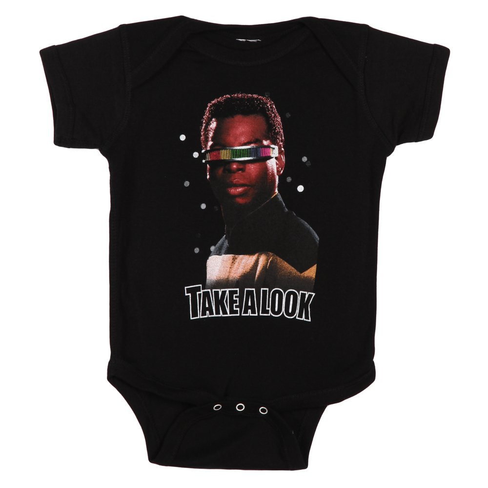 Star Trek Take A Look Baby Romper Snapsuit