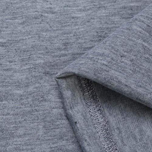 Stile Monocromo Giacca Maglia Grau A Mode Di Pullover Lunga Fit Moda Modern Marca Autunno Giorno Giubotto Slim Manica Cappotto Donna 44Zw5Oqxr
