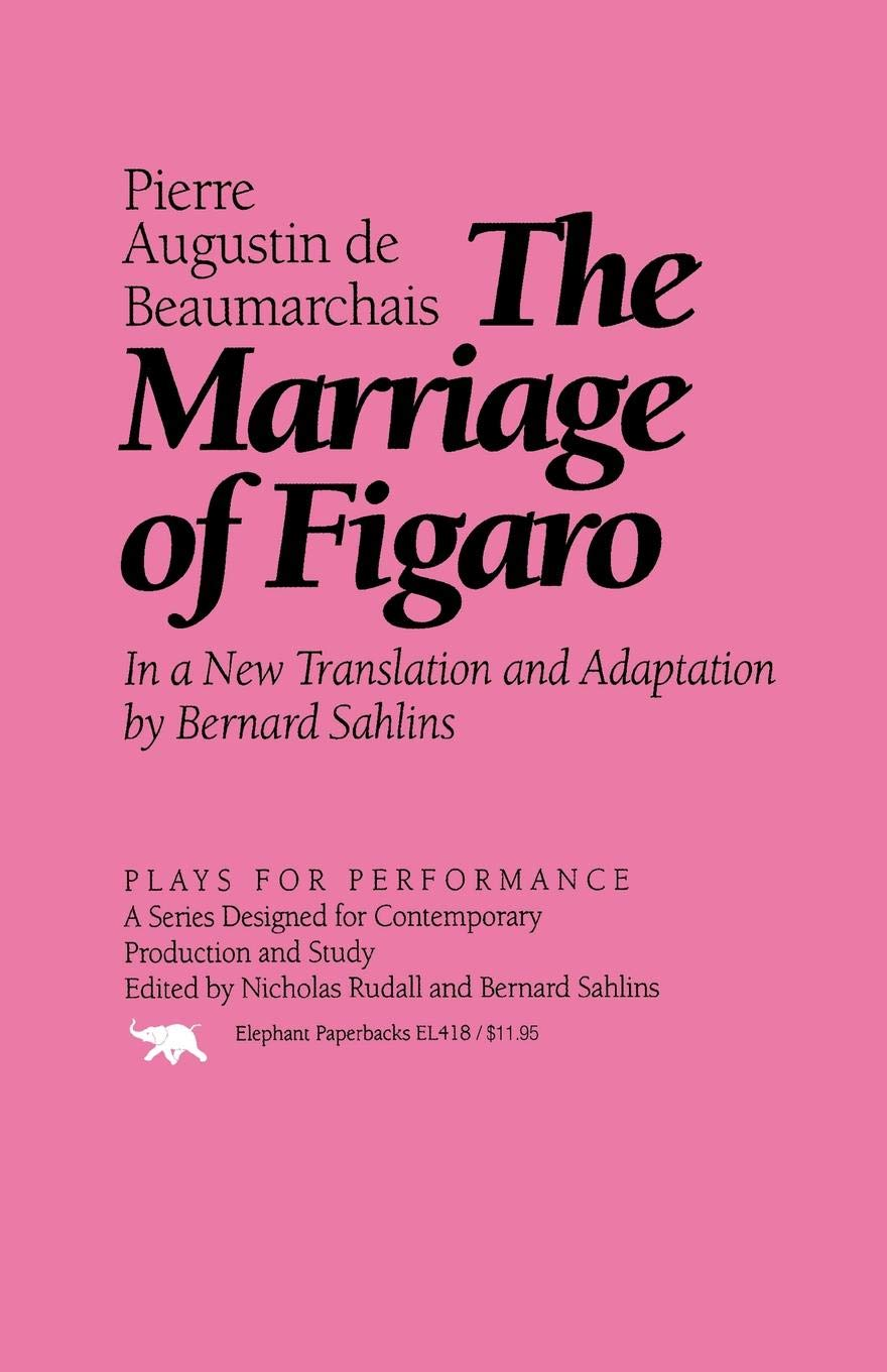 Read Online The Marriage of Figaro (Plays for Performance Series) ebook