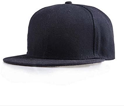 Tongshi Moda Unisex Plain Snapback Hats Hip-Hop ajustable Gorra de ...