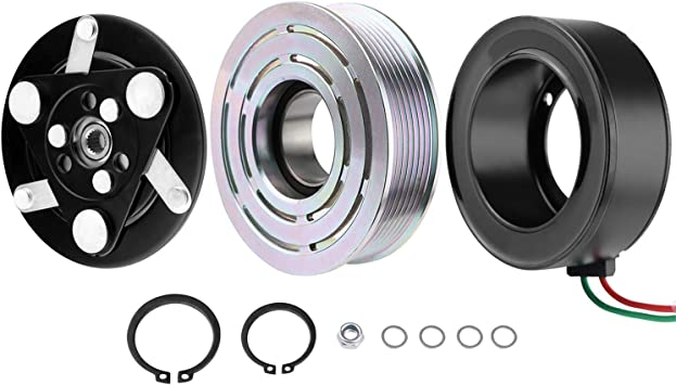 For 2006-2011 Honda Civic A//C AC Compressor Clutch KIT Plate Bearing Coil Pulley