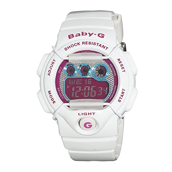 03d82640f7cfc Casio Women s Baby-G BG1005M-7 White Resin Quartz Watch with Digital Dial  Casio  Baby-G  Amazon.ca  Watches