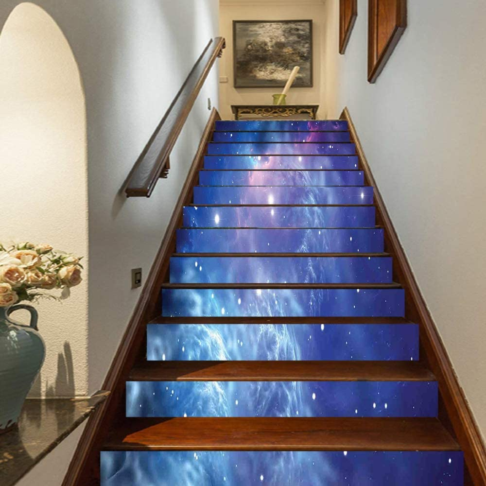 Amazon.com: Space Decorations Staircase Stickers,Outer Space