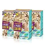 Schwarzkopf PURE COLOR Permanent Gel Coloration No.10.0 ANGEL BLONDE ( 3er Pack )