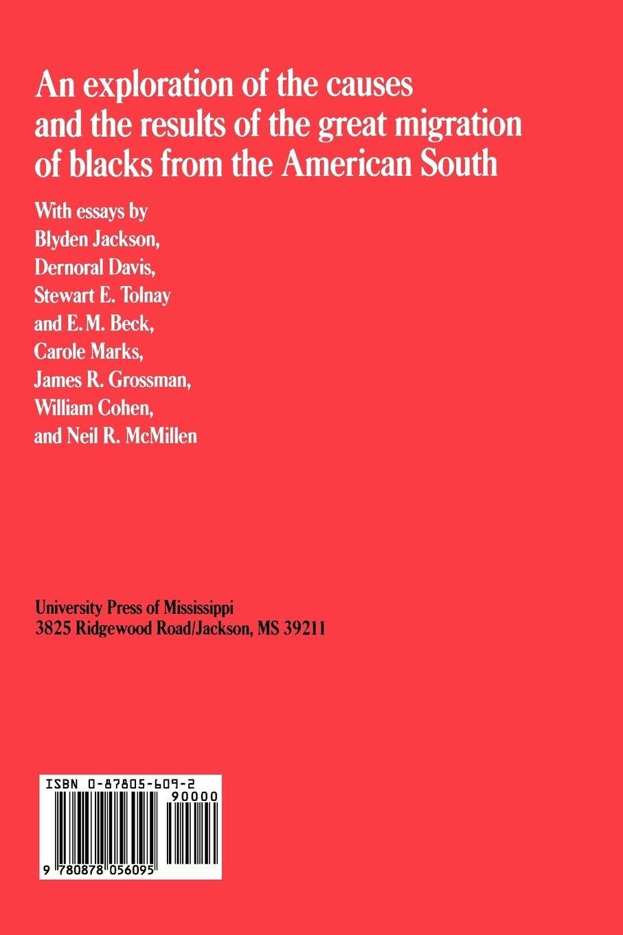 Black Exodus: The Great Migration from the American South: Alferdteen  Harrison: 9780878056095: Amazon.com: Books
