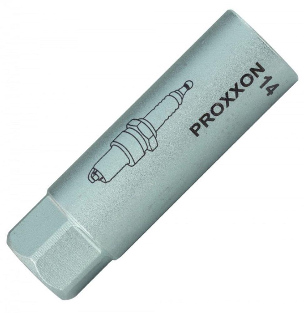 Entra/înement de 10 mm avec profil hexagonal et hexagonal double Proxxon 23553/ BI-HX Ecrou de bougie dallumage avec insert TPR de 14 mm