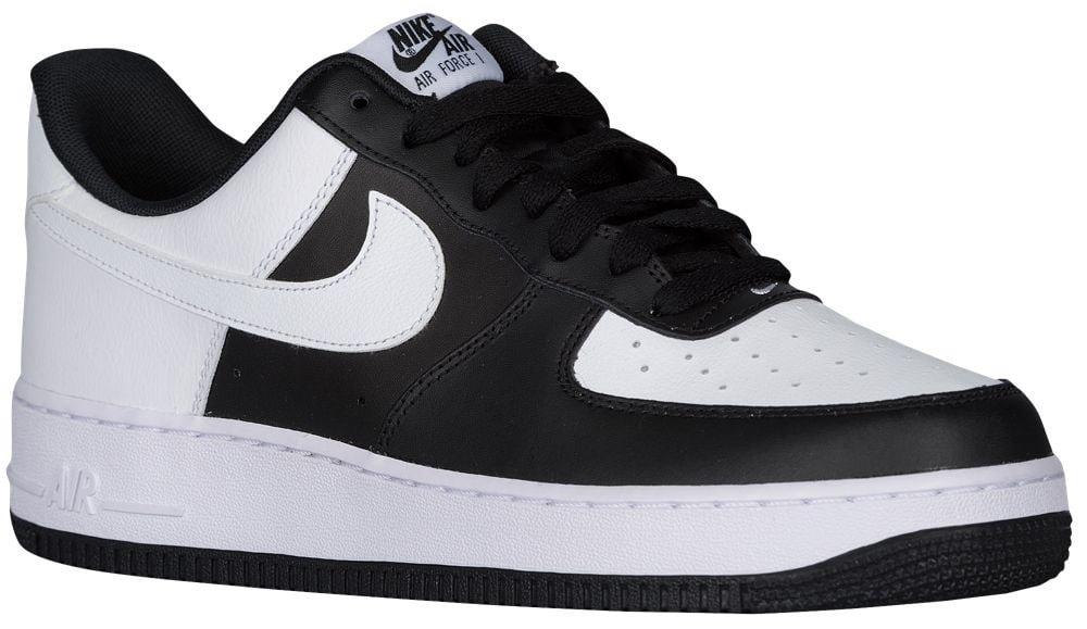 [ナイキ] Nike Air Force 1 Low - メンズ バスケット [並行輸入品] B071GL22JP US10.0 ブラック/ホワイト/ホワイト