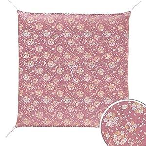 Four Seasons High-Quality Japanese-Made Cushion Using The Brocade( Kimono Fabric) . All Season.(Zabuton) 26.3× 26.7Inch 57