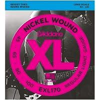 Daddario Exl170 Bas Gitar Tel Seti, Xl, 45-100, Long Scale, Nickel