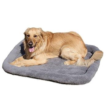 Caseta/Cama para perros y gatos - Pequeño,Medio,Grande - Suave cuna acolchada con cojín: Amazon.es: Productos para mascotas