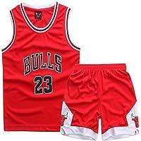 Michael Jordan # 23 Niño Baloncesto Jersey - NBA Chicago Bulls Swingman Sport Jerseys Camiseta Traje
