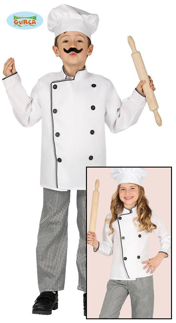 Guirca 81581 - Cocinero Infantil Talla 5-6 Años: Amazon.es ...