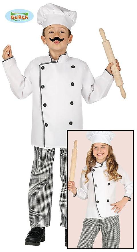 Guirca 81581 - Cocinero Infantil Talla 5-6 Años