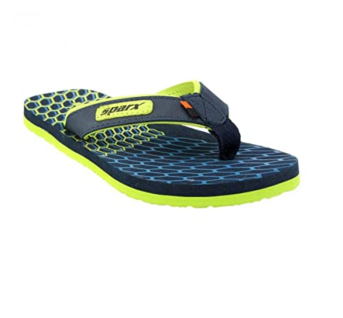 457e6832e Sparx Men s Flip-Flops and House Slippers (SFG-535-Green) (9-UK IND ...