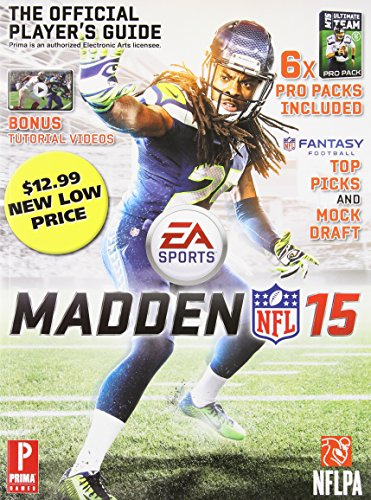 Price comparison product image Madden NFL 15: The Official Player's Guide