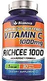 Bionova Vitamin C 1000mg - 30 Tablets (Non-Acidic) - Gentle On Stomach