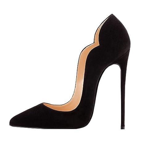 fe8d15cae2 Soireelady Scarpe Donna con Tacco,High Heel Scarpe,Scarpe con Tacco Alto  Donna