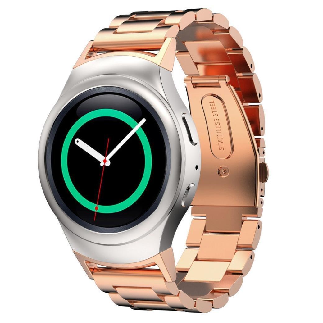 Voberry® Nueva Versión Watche banda + conector de acero ...
