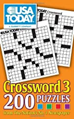 USA TODAY Crossword 3 is a brand-new collection of 200 crosswords for puzzle-smiths of all skill levels.Crossword is a classic puzzle that continues to be one of the most popular puzzle types. Keep your mind sharp with this assortment from th...