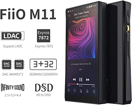 One Year Warranty FiiO X5 III 3rd Gen High Resolution Audio DAP Music Player