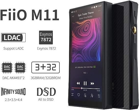 FiiO M11 - Reproductor de música sin pérdida de Alta resolución