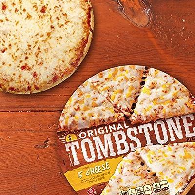 Tombstone Original 5 Cheese Frozen Pizza 198 Oz Amazon