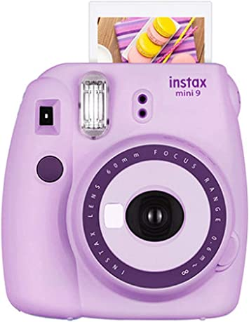 Fujifilm Instax Mini 9 Camera Purple Fuji Instax Mini Camera Purple Instax Mini 9 Instax Camera Light Purple Instant Camera Gift For Kids Polaroid Camera Light Purple Camera Photo