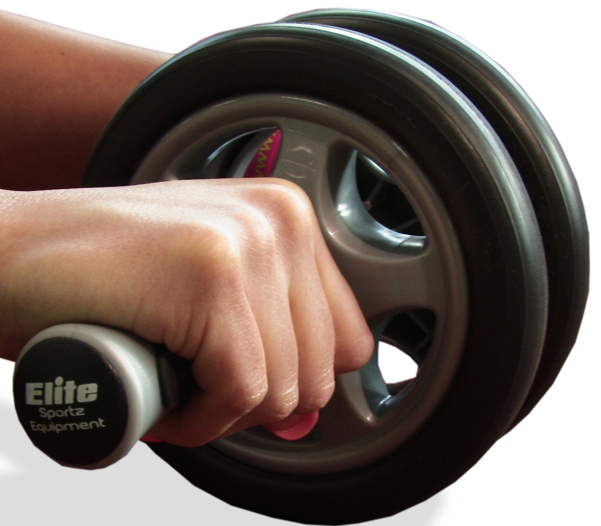 Elite Sportz Equipment Ab Wheel Roller Pro With Dual Wheel