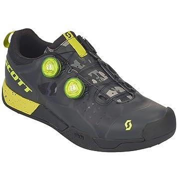 Scott MTB AR Boa Clip bicicleta guantes negro/amarillo 2018: Amazon.es: Deportes y aire libre