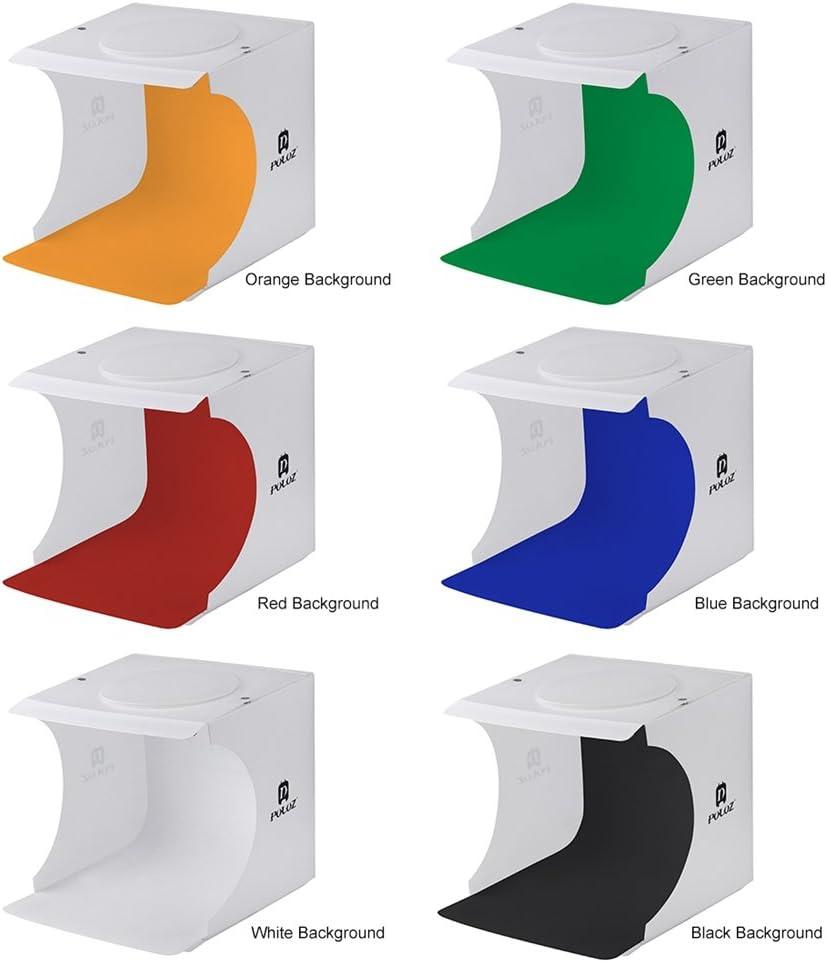 Portable Mini Studio Photo Photo Box LED Backlight Built-in Light Photo Background Photography Light Box