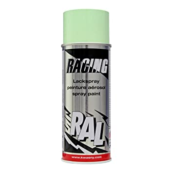 Amazonfr Ral 6019 Vert Pastel Racing Bombe Peinture 400 Ml