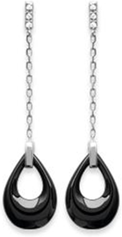 BOUCLES d/'oreilles ETOILE en ARGENT 925 et Oxydes Zirconium Neuves