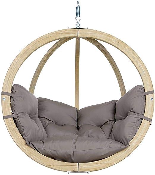 Poltrone Pensili Da Giardino.Amazonas Hammock Poltrona Pensile Globo Chair Taupe Grigio Chiaro